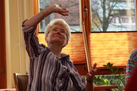 Die Arbeit mit Senioren